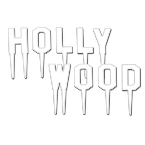 Hollywood Party Food Picks - Pack of 9