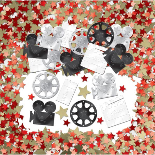 Hollywood Themed Table Confetti - 14 Grams Product Image