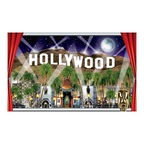 Hollywood Window Insta View Backdrop Scene Setter Add-On Product Image