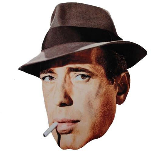 Humphrey Bogart Cardboard Face Mask Product Image