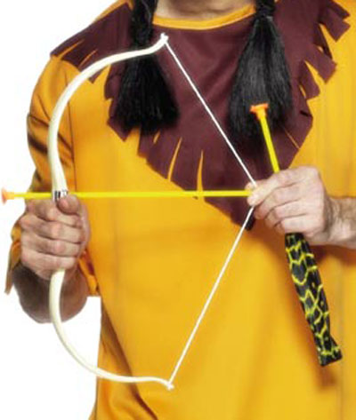 Indian Bow and Arrow Plastic Archery Set Product Image