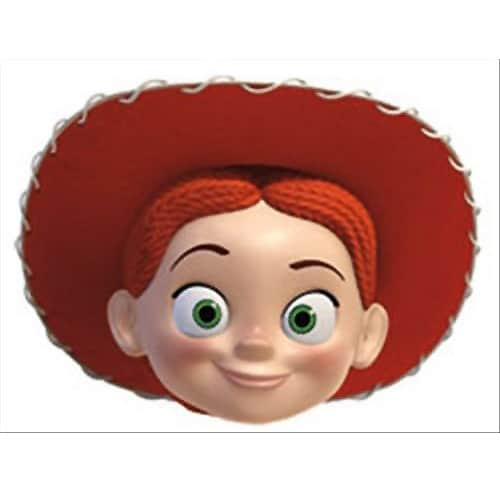 Toy Story Jessie Cardboard Face Mask Product Image