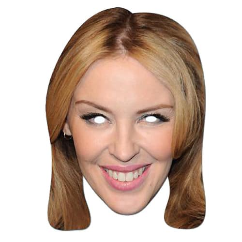 Kylie Minogue Cardboard Face Mask Product Image
