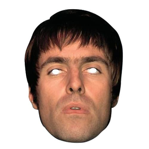 Liam Gallagher Cardboard Face Mask Product Image