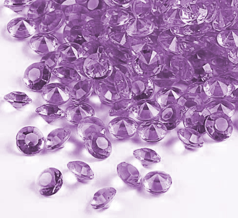 Lilac Premium Table Gems - 6 Packs of 28 Grams Product Image