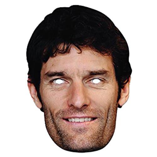 Mark Webber Cardboard Face Mask Product Image