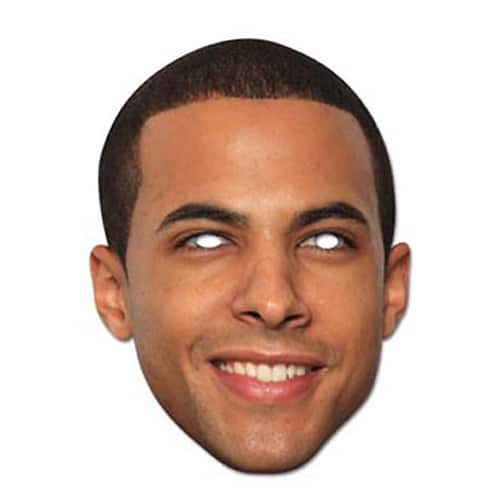 JLS Marvin Humes Cardboard Face Mask Product Image