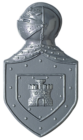Medieval Knights Plastic Crest - 22 Inches / 56cm Product Image