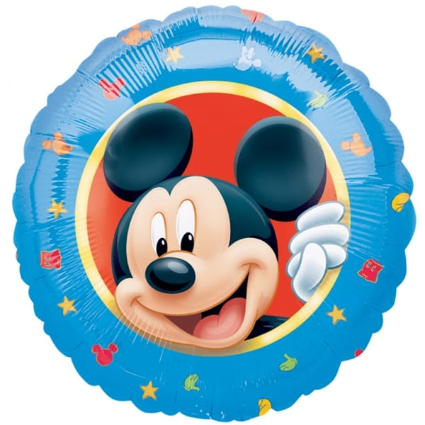 Mickey Mouse Foil Helium Balloon 43cm / 17Inch Product Image
