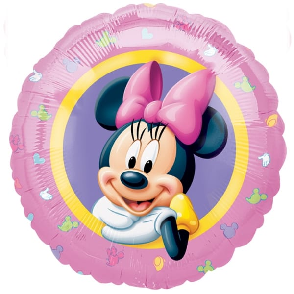 Minnie Mouse Foil Helium Balloon 43cm / 17Inch Product Image