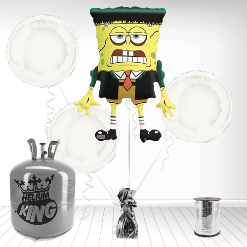 MonsterBob SpongeBob Foil Balloon and Helium Gas Package Product Image