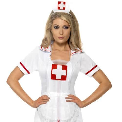 Naughty Nurse Instant Fancy Dress Kit Product Image