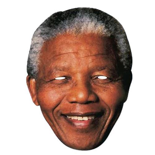 Nelson Mandela Cardboard Face Mask Product Image