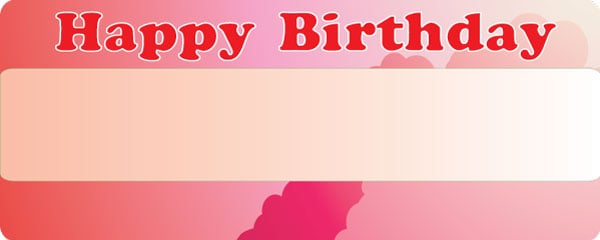 Birthday Girl Special Pink Design Small Personalised Banner - 4ft x 2ft
