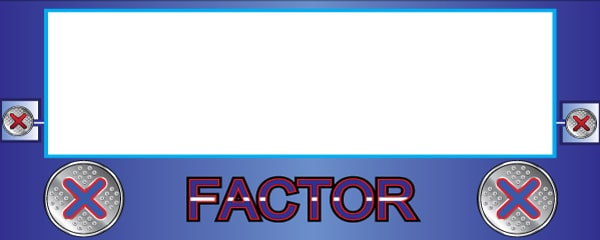 The X Factor Traditional Design Small Personalised Banner - 4ft x 2ft