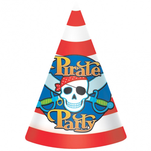 Pirate Cone Party Hat