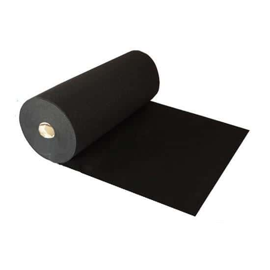 1 Metre Prestige Heavy Duty Black Carpet Runner Product Image