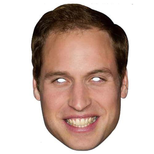 Prince William Cardboard Face Mask Product Image