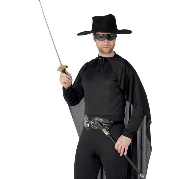 Rapier Sword and Black PVC Eye Mask