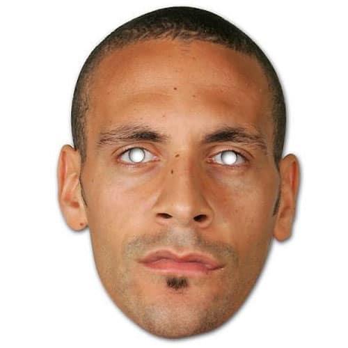 Rio Ferdinand Cardboard Face Mask Product Image