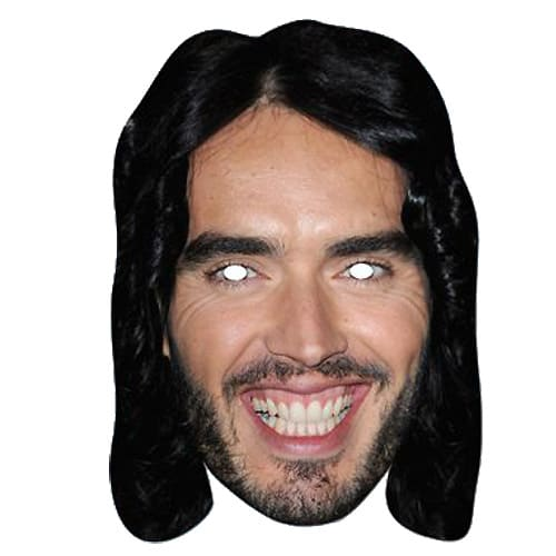 Russell Brand Cardboard Face Mask Product Image