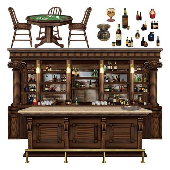Saloon Scene Setter Add-Ons - Pack of 15 Product Image