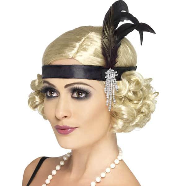 Deluxe Satin Charleston Headband