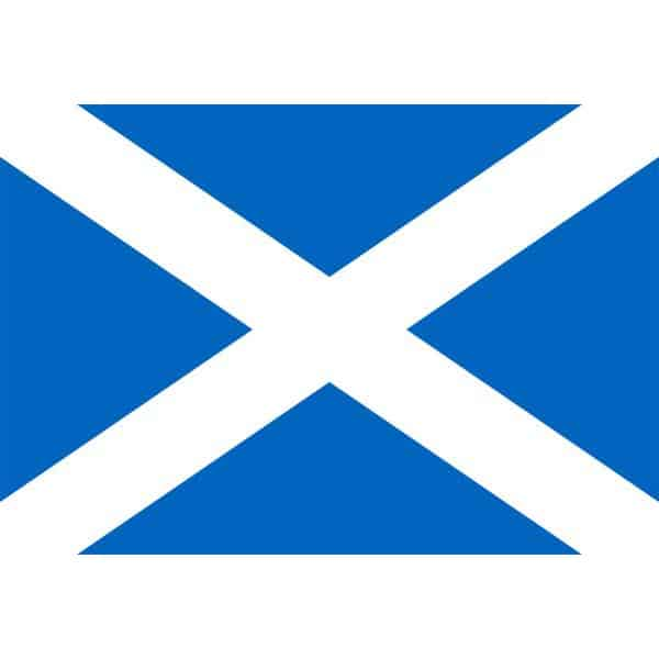 Scotland Flag - 5 x 3 Ft