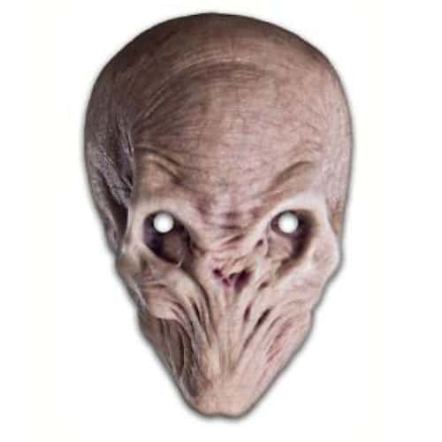 Dr Who The Silent Cardboard Face Mask Product Image