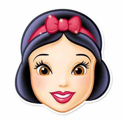 Disney Princess Snow White Cardboard Face Mask