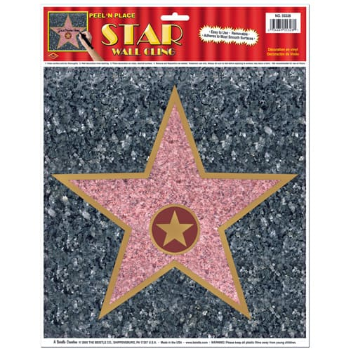 Hollywood Walk of Fame Star Peel And Place Floor Sticker Product Image