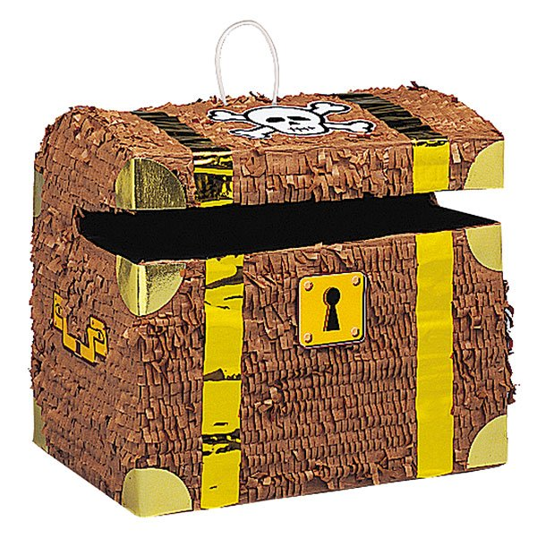 Treasure Chest Standard Pinata Product Image