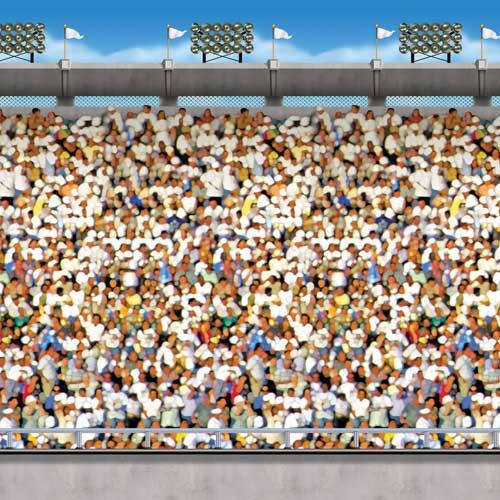 Upper Deck Stadium Backdrop Scene Setter Room Roll Product Image