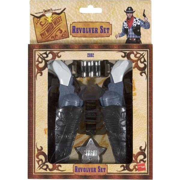 Wild West Revolver Toy Set