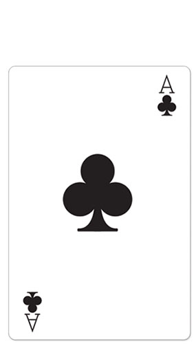 Ace Clubs Lifesize Cardboard Cutout - 154cm Product Image