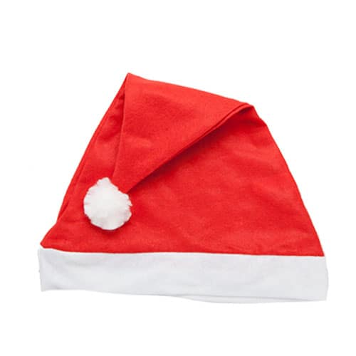 Plain Christmas Santa Hat Product Image