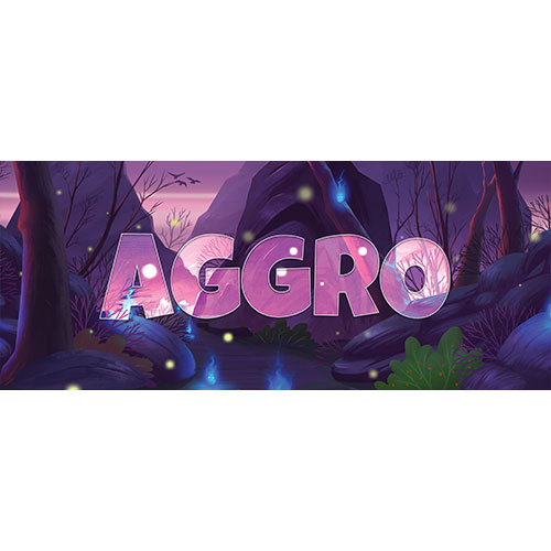 Aggro Forest Background PVC Party Sign Decoration 60cm x 25cm Product Image