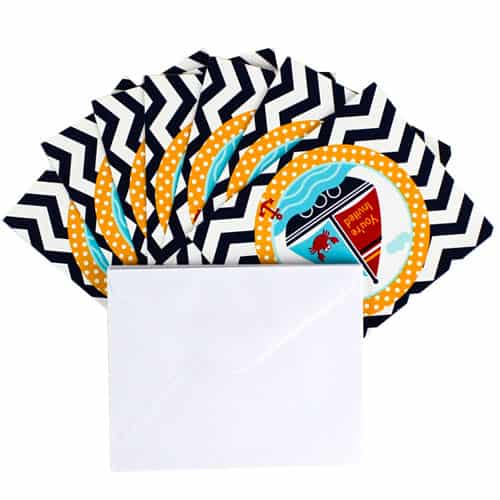 Ahoy Matey Invitations with Envelopes - Pack of 8 Product Image