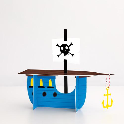 Ahoy Pirate Ship Centrepiece Table Decoration 32cm Product Image