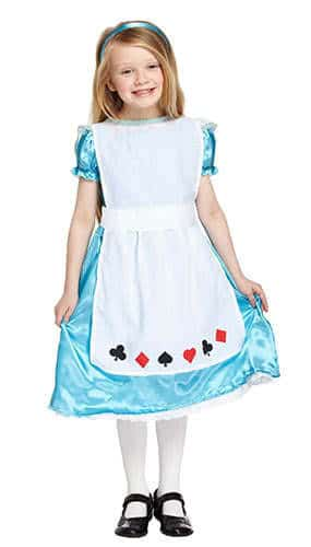Alice Children Fancy Dress Costume 10-12 Years - Large Product Image