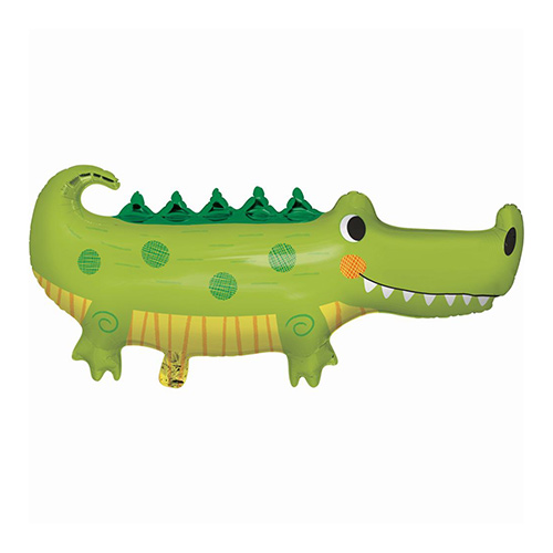 Alligator Party Shaped Helium Foil Giant Balloon 93cm / 36 in Product Image