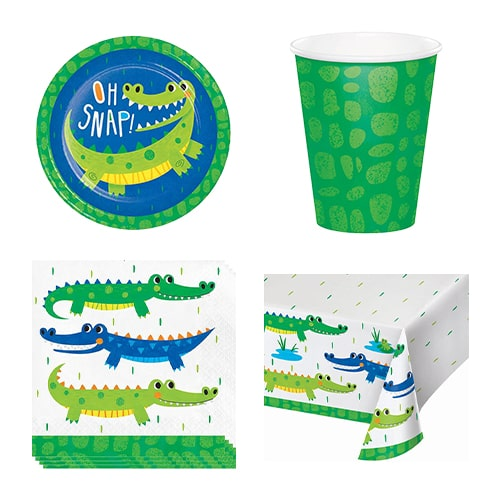 Alligator Party 8 Person Value Party Pack Product Image