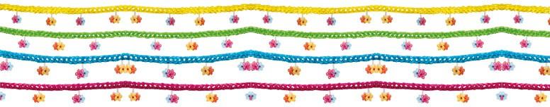 Aloha Paper Flower Garland - 4m Product Image