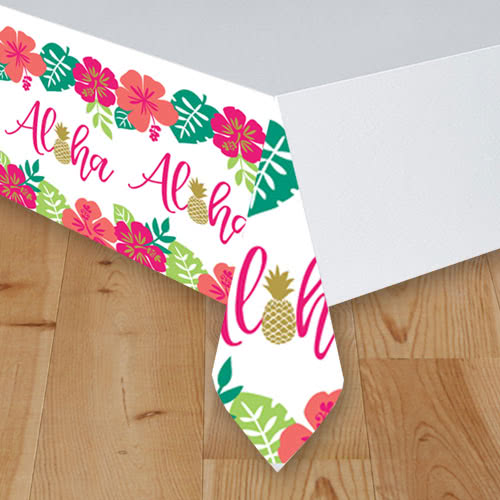 Aloha Summer Paper Tablecover 259cm x 137cm Product Image