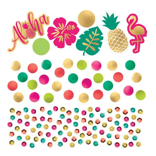 Aloha Summer Value Table Confetti 34 Grams - Pack of 3