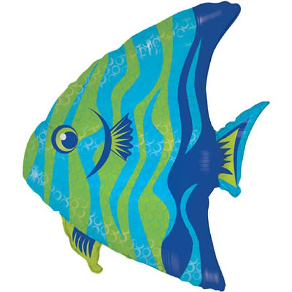 Angel Fish Helium Foil Giant Balloon 71 cm / 28 in Product Image