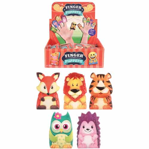 Animal Finger Puppets Assorted Designs - Single