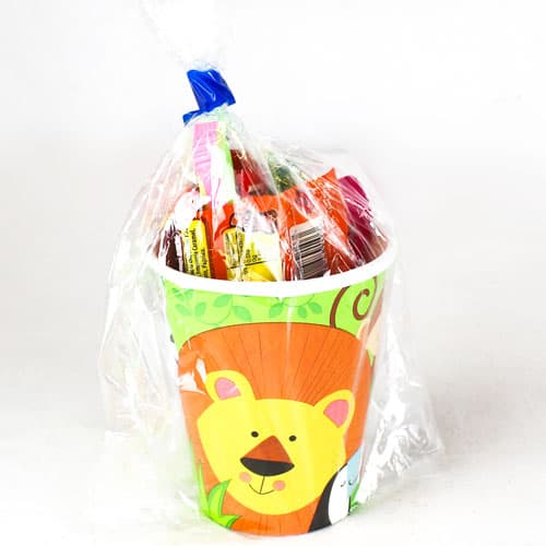 Animal Jungle Value Candy Cup