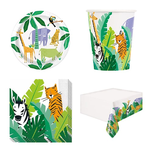 Animal Safari 8 Person Value Party Pack Product Image