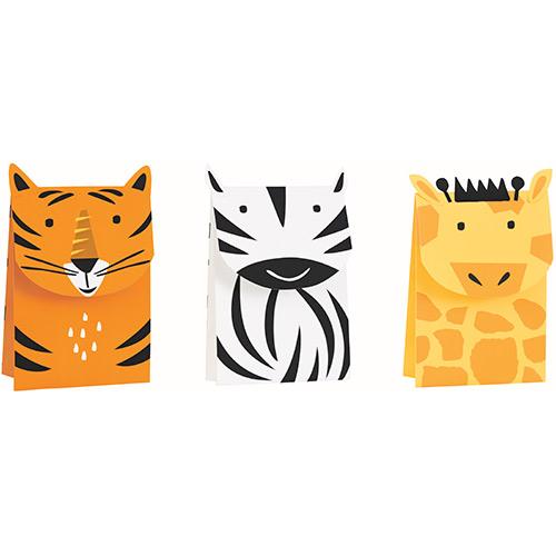 Animal Safari Treat Bags - Pack of 3 Product Image